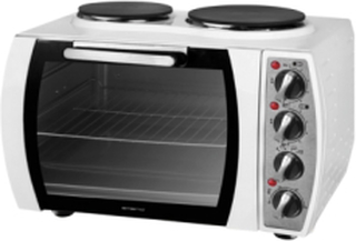 Benk-komfyr med 2 kokeplater