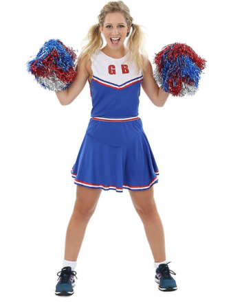 Orion Cheerleader Outfit Flerfarvet Large - Fruugo
