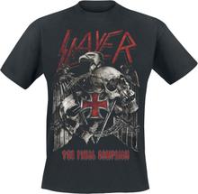 Slayer - Final Campaign Eagle -T-skjorte - svart