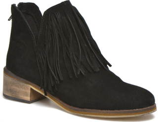 Laure Leather Boot by Vero Moda