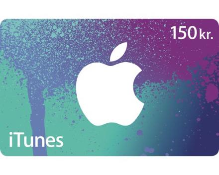 Apple Itunes Gavekort 150 Dkk (D4482DK/A)