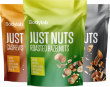 Bodylab Just Nuts (400 g) - Roasted Hazelnuts