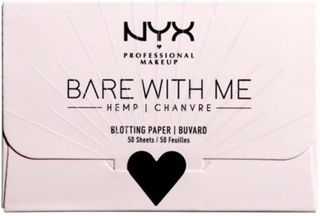 NYX Bare With Me Hemp Blotting Paper 50 ark