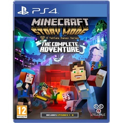 Minecraft Story Mode Complete Adventure (Playstation 4) - wupti.com