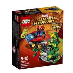 LEGO Super Heroes Mighty Micros: Spider-Man mod Scorpion 76071 - wupti.com