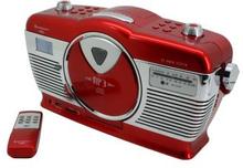 Soundmaster: Retro CD Radio Röd