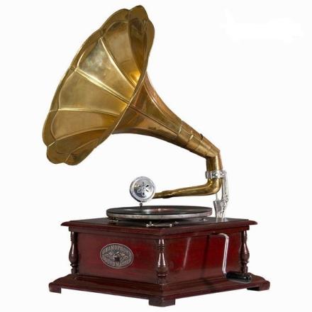Grammofon - klassisk kvadrat