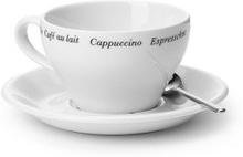 Cappuccinokopp Barista med Fat 2 pack