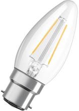 Osram Retro LED Kron 2,5W/827 (25W) B22D - Klar