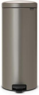 Brabantia Pedalhink newIcon, plastinnerhink 30 L Platinum