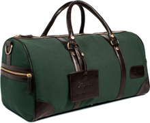 Weekendväska kanvas XL - British racing green