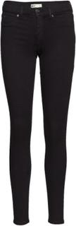 Skinny Low Waist Superstretch Jeans Skinny Jeans Sort GINA TRICOT