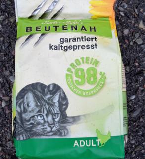 Beutenah Kaldpresset kattefôr 400g