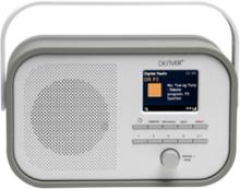 DAB+ FM-radio Grå