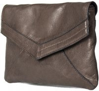 Dixie Vestfold Clutch Dark Brown