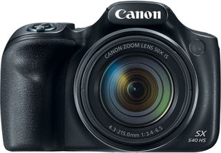Canon PowerShot SX540 HS - 50x optisk zoom