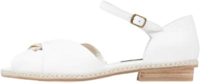 Everybody Sandaler & sandaletter bianco/platino