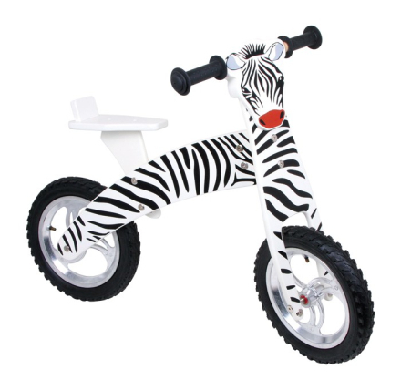 Zebra løpesykkel