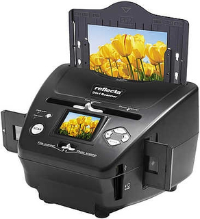 3 i 1 Filmcanner - foto, negativer og lysbilder - standalone ver
