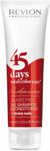 Revlon Professional 45 Days Sampoo And Conditioner Brave Reds (275ml)