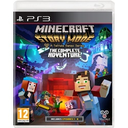 Minecraft Story Mode Complete Adventure (Playstation 3) - wupti.com