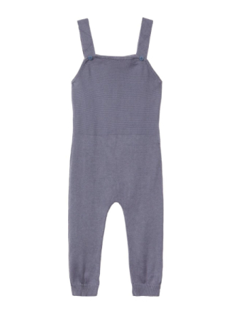 NAME IT Baby Knitted Overalls Unisex Grå