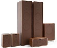 Retrospective 1977 MKII 5.1 Soundsystem valnöt inkl. överdrag i brunt