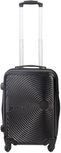 Kabinekuffert - Sort hardcase rejsekuffert - Eksklusiv kuffert med smart design