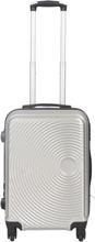 Kabinekuffert - Grå hardcase rejsekuffert - Eksklusiv kuffert med smart design