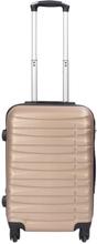 Kabinekuffert - Guld hardcase kuffert - Eksklusiv rejsekuffert