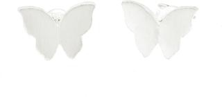 Cu Jewellery Butterfly Ear Silver
