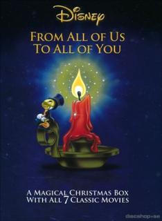 Disneys stora julbox (7-disc) (Blu-ray)