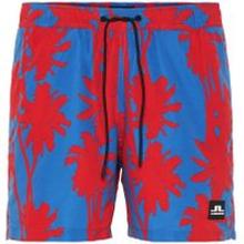J.LINDEBERG Banks Pattern Swim Shorts Man Röd