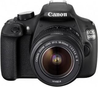 Canon EOS 1200D Kit + EF-S 3,5-5,6/18-55 IS II