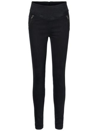 VERO MODA High Waist Skinny Fit Trousers Women Black