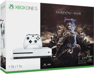 Microsoft Xbox One S 1TB incl. Shadow of War USK 16