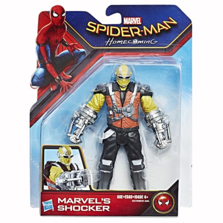 Disney SpidermanSpider-Man, Web City Figure, 15 cm, Marvels Shocker