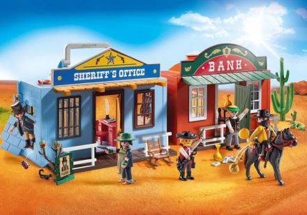 Westerncity att gå med - Playmobil Western 70012