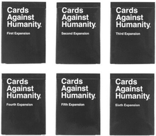 Cards Against Humanity Expansion Set (1-6)