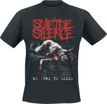 Suicide Silence - No Time To Bleed -T-skjorte - svart