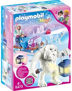 Playmobil9473 Snötroll med Släde