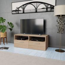 vidaXL TV-kabinett sponplater 95x35x36 cm eik