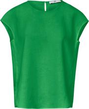 Blustopp i 100% linne från Peter Hahn grön
