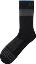 Shimano Tall Wool Socks black L   EU 43-45 2019 Strumpor