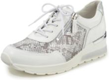 Sneakers H-Clara metallicfinish från Waldläufer vit