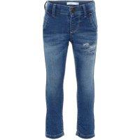 NAME IT Mini Sweat Denim Slim Fit Jeans Man Blå
