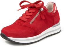 Sneakers dragkedja från Gabor Comfort röd
