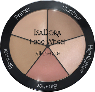 Face Wheel All-In-One, 18 g IsaDora Sminkepaletter