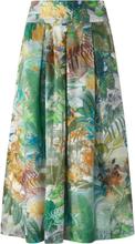 Kjol i 100% bomull från Peter Hahn grön