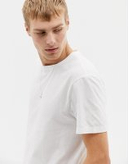 J.Crew Mercantile washed crew neck t-shirt in white - White